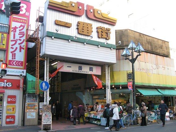 大宮駅東口の一番街