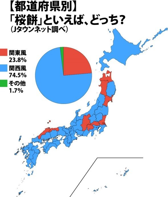 「桜餅」といえば、どっち?(Jタウンネット調べ)