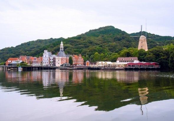 名称が復活した現「長崎オランダ村」(写真は、長崎オランダ村提供)