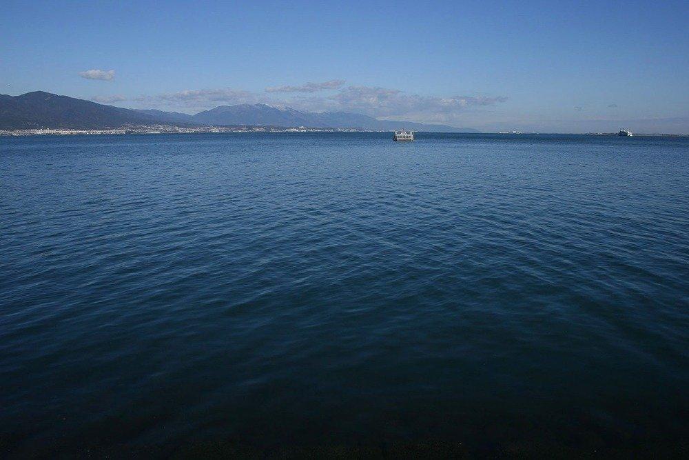 この水が いいねと君が いったから 7月はじめは びわ湖記念日