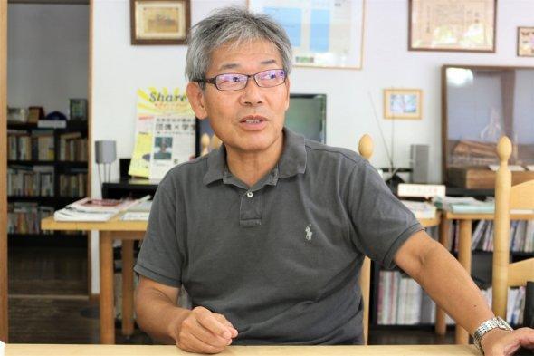 岩﨑さん自身からも、人のよさが伝わってきた