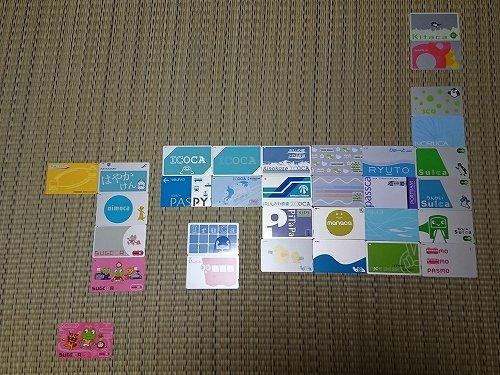 交通系ICカードで「日本地図」描く コレクターの力作が話題「凄い発想 ...