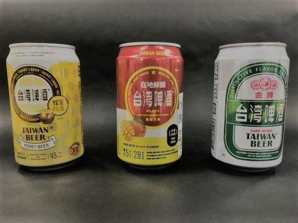 噂の台湾ビール3本ゲット