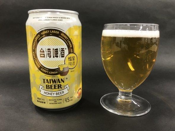 台湾蜂蜜ビール。価格は298円(税込)だ