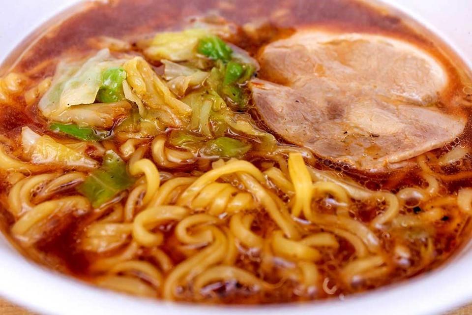 濃い飴色のスープ