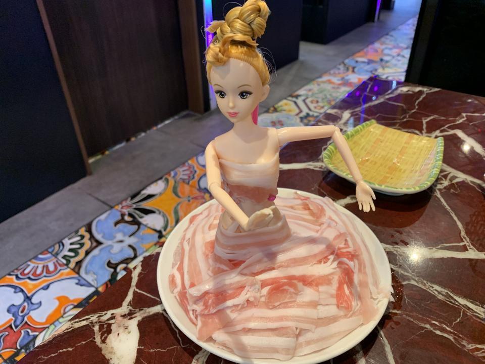 2皿目の豚バラ
