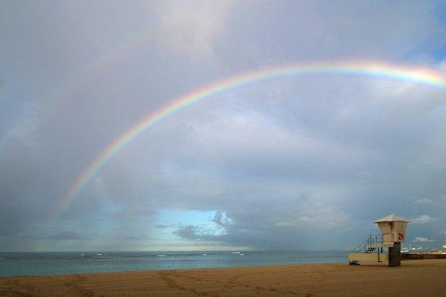 虹の秘密とは(画像はイメージ)