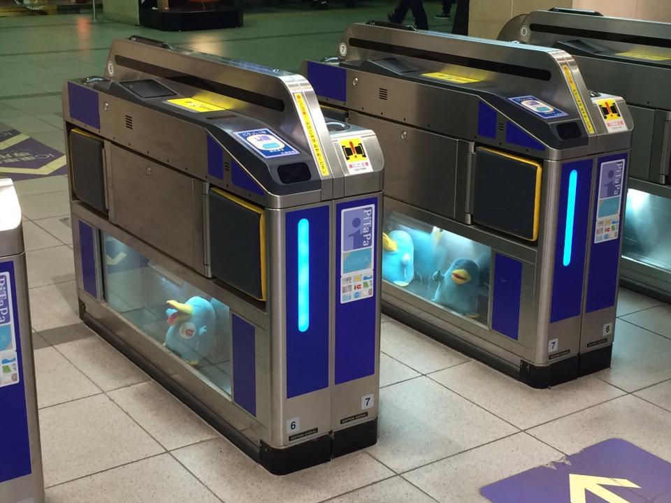 京橋駅にはもういない(画像は谷間やんぬ@servent_nm7さん提供、京橋駅で撮影)