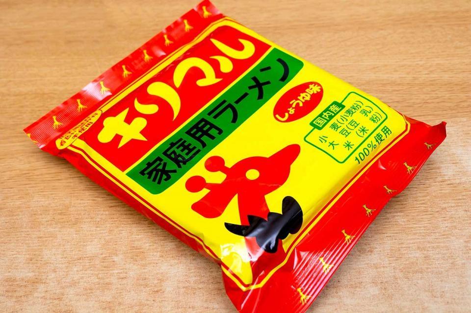キリマルラーメンは愛知県西三河のご当地袋麺