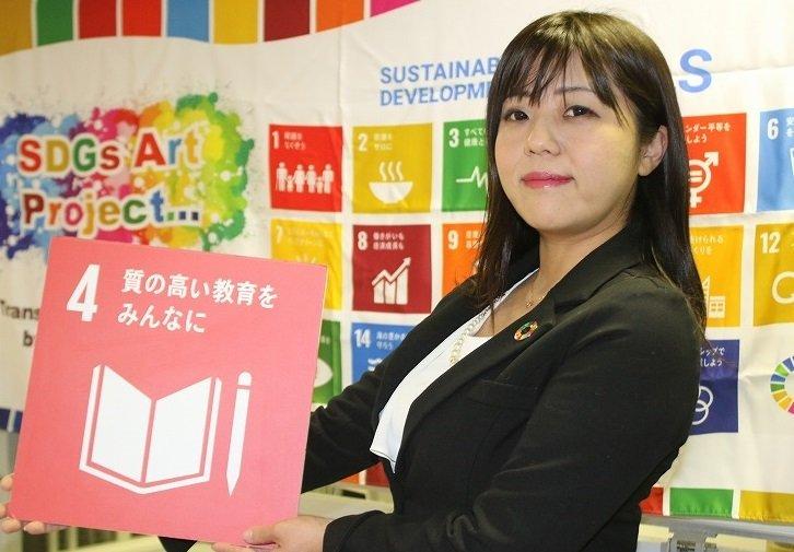 SDGs商店街の「仕掛け人」森川さん