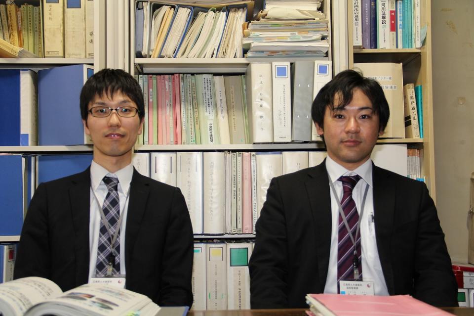 飛田祐典さん(写真左)、高月哲さん(同右)
