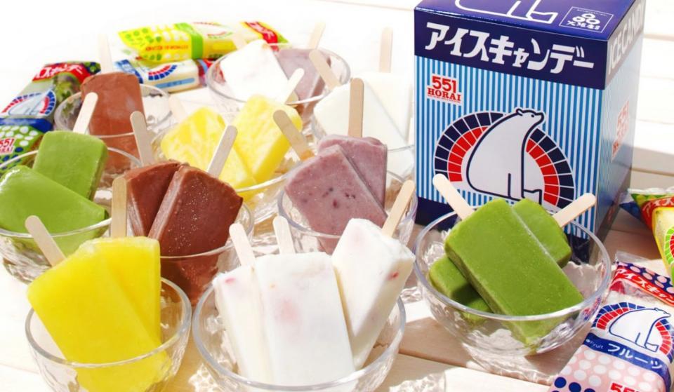 白くまがシンボルのアイスキャンデー(画像は551蓬莱公式サイトより)