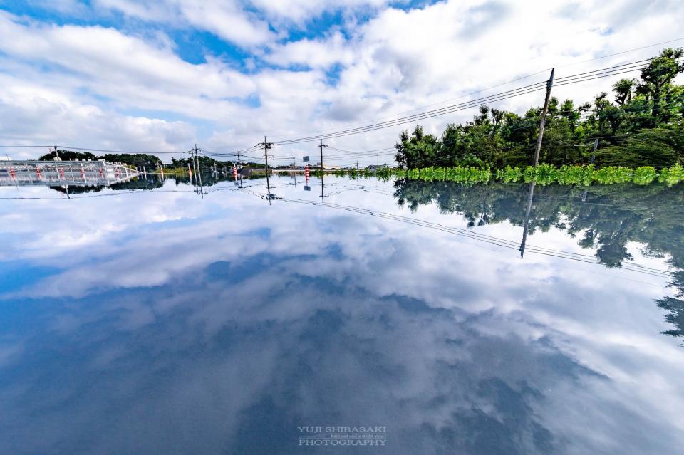 湖のようだ(画像はYuji Shibasaki@Yuji_48さん提供)