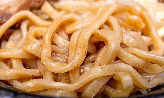 二郎系のワシワシ麺を再現