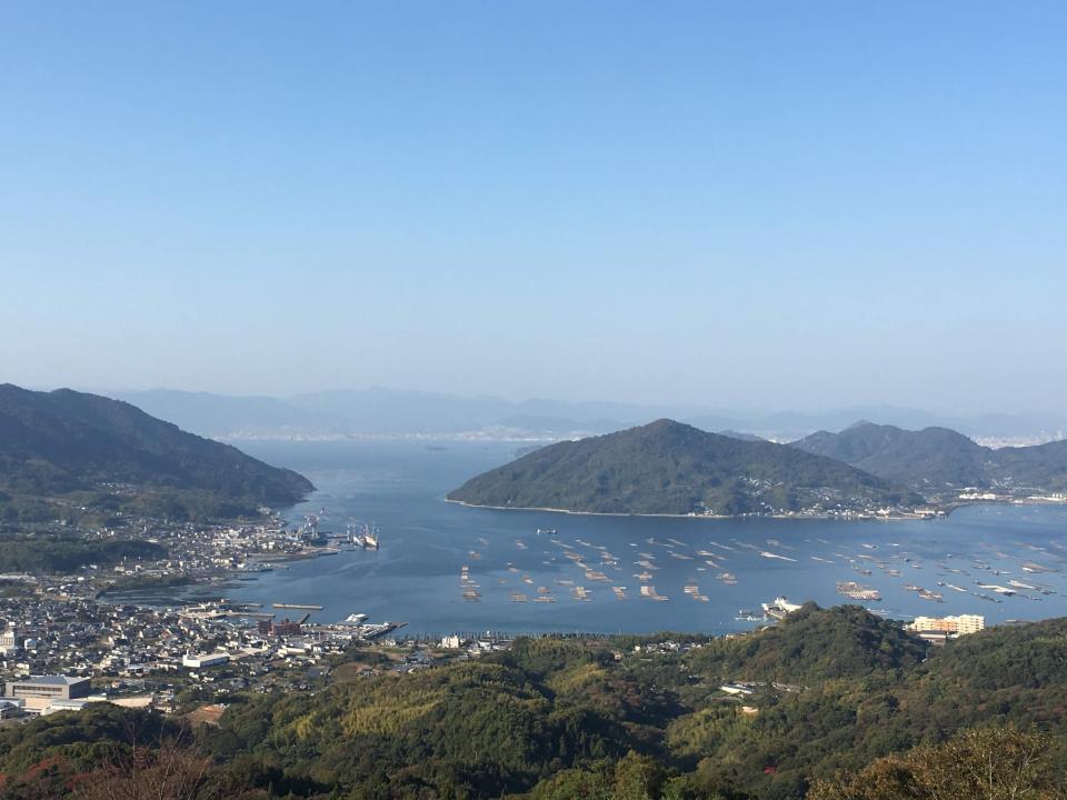 実証実験を行っている江田島