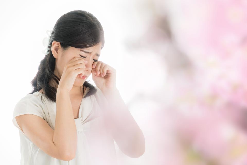 コロナ禍の花粉症、つらすぎ...(画像はイメージ)