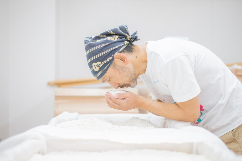三千櫻酒造、酒米生産者、東川町が三位一体となって「東川の日本酒」を作る(撮影:井上浩輝)