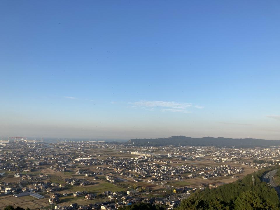 西条市の風景(編集部撮影)