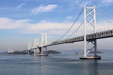 瀬戸大橋(Kanchi1979さん撮影、Wikimedia Commonsより)