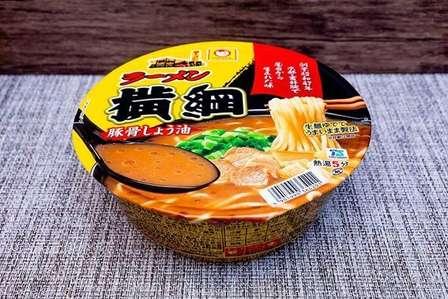 「ラーメン横綱」のカップ麺