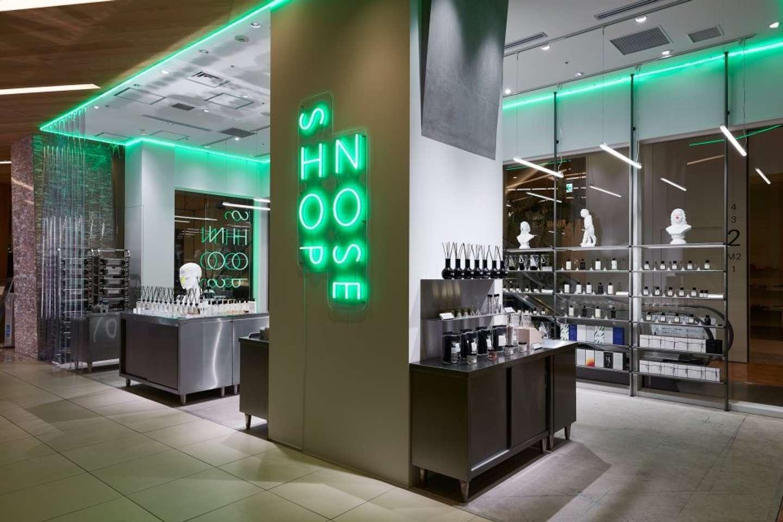 オルトパリージの香水を販売するNOSE SHOP 新宿店