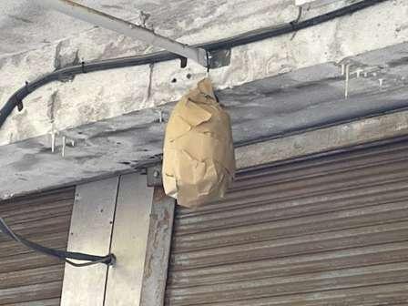 ハチの巣にはハチの巣をぶつけるんだよ(画像はニノマエハジメ/u3@ninohajimさんのツイートより)