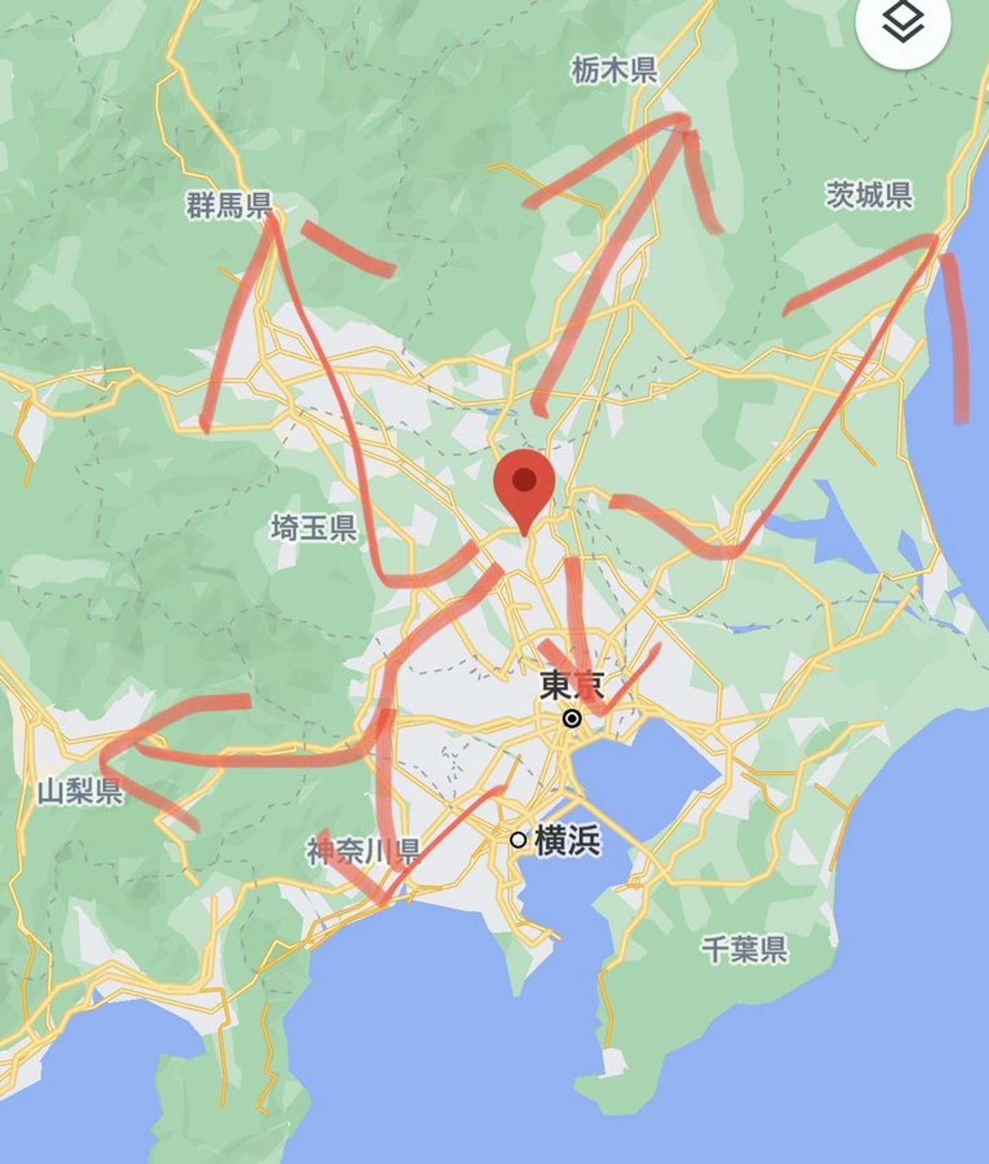 アクセスがいい(画像はすんで埼玉@sunde_saitamaより)(c)google