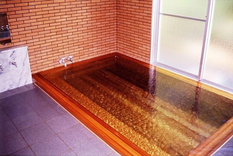 「やまびこ荘」温泉風呂(画像提供:西伊豆町役場まちづくり課)