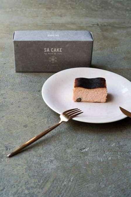ひとくち食べると広がるお酒の香り 宮城で誕生した「酒粕入りバスクチーズケーキ」がおいしそう