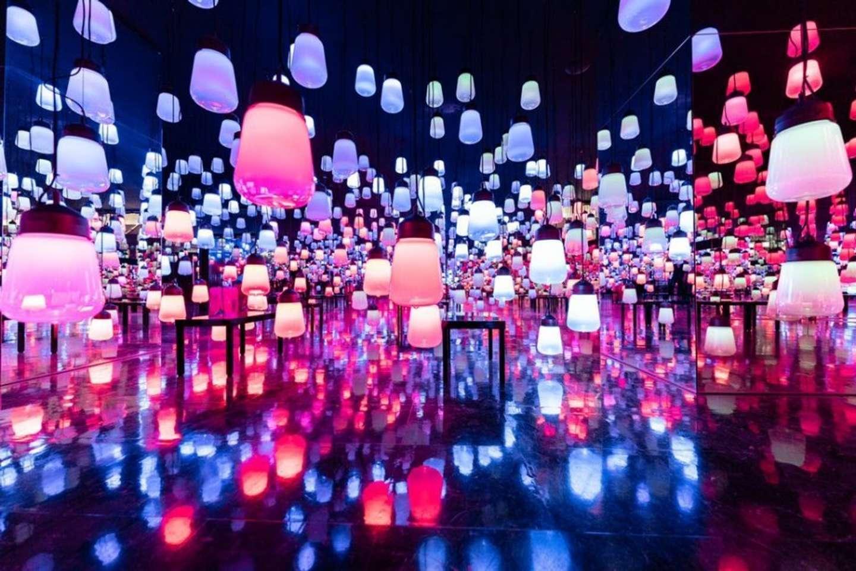 ランプが幻想的(画像は三谷ユカリ@mitsuyuka_lpさん提供)