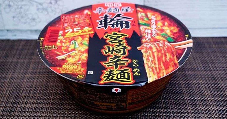 明星食品「明星 辛麺屋輪監修 宮崎辛麺25辛」