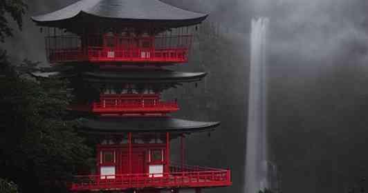 濃霧が晴れ、姿を見せた美しすぎる「御神体」 和歌山・那智の滝の絶景に浄化されそう