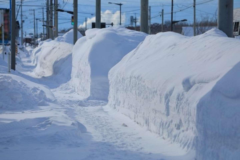 やっとの思いで除雪したのに......(画像はイメージ)