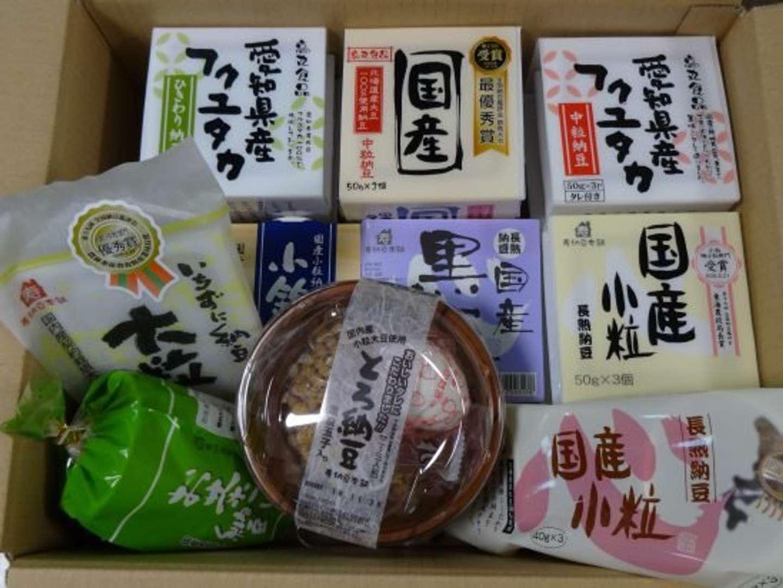 高丸食品のウェブサイトより、丸い容器が「とろ納豆」