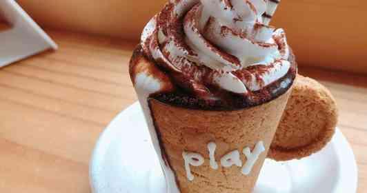 コーヒーを楽しんだ後はカップをムシャムシャ 石川で人気のカフェの「映え」がスゴい!