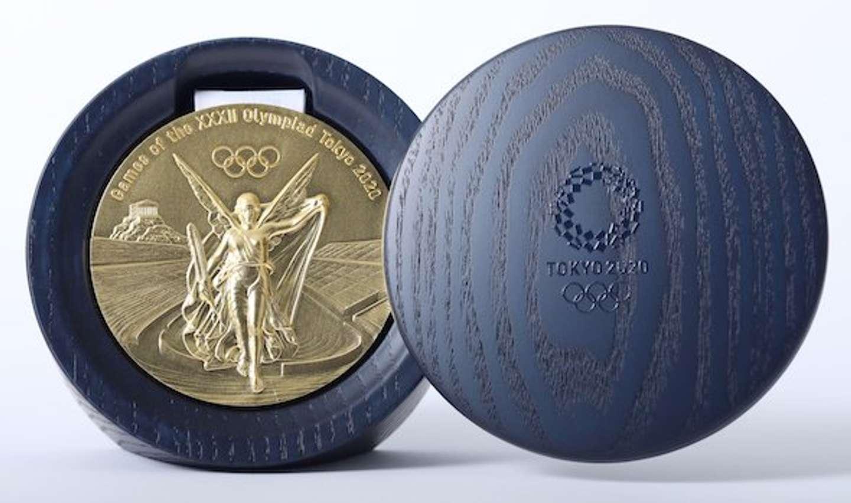 東京 2020 オリンピックメダルケース(Tokyo 2020提供)
