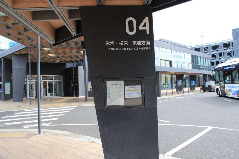 4番乗り場は「常宮・松原・東浦方面」