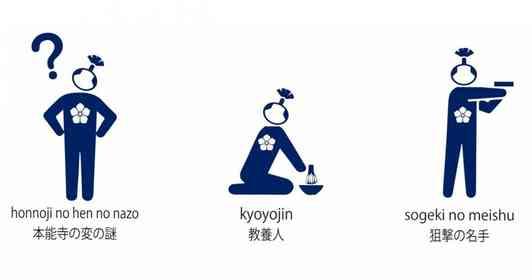 本能寺の変に「?」 福知山市「明智光秀ピクトグラム」に反響「あんたしか真相知らんがな」