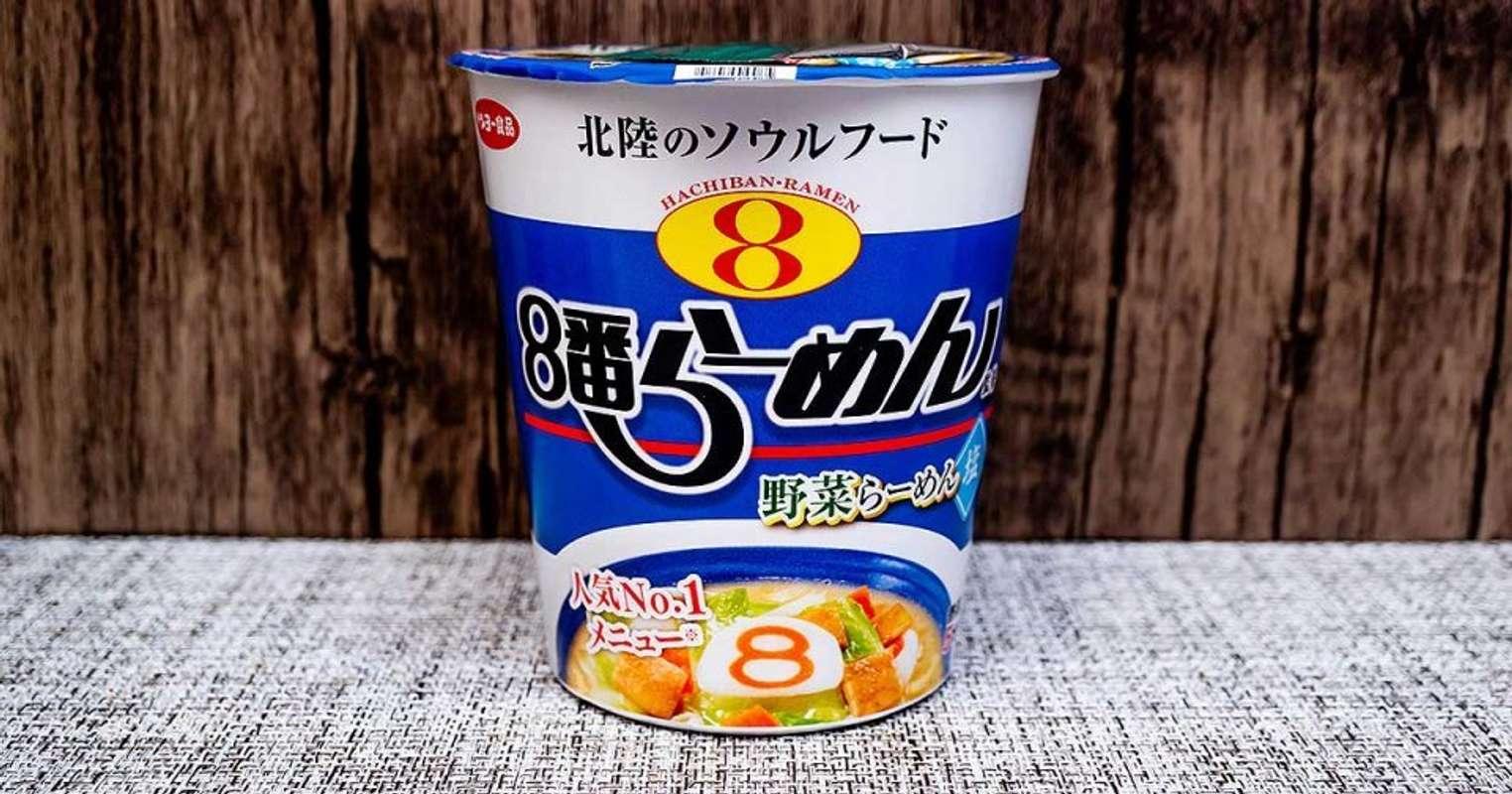 サンヨー食品「8番らーめん監修 野菜らーめん 塩」