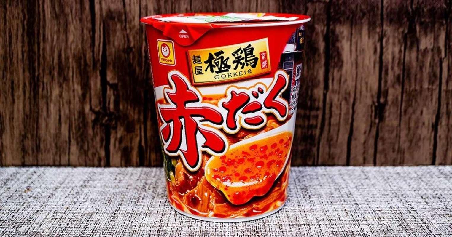 ファミマ限定「麺屋 極鶏 赤だく」