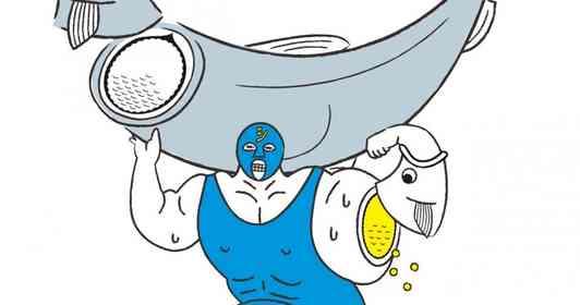 腕いっぱいに卵を宿す覆面レスラー「シシャモパワー」に大注目 マネージャーに話を聞くと...「2号」の登場を示唆