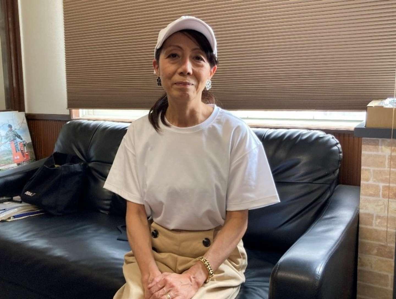 大阪から移住した、井藤眞紀子さん