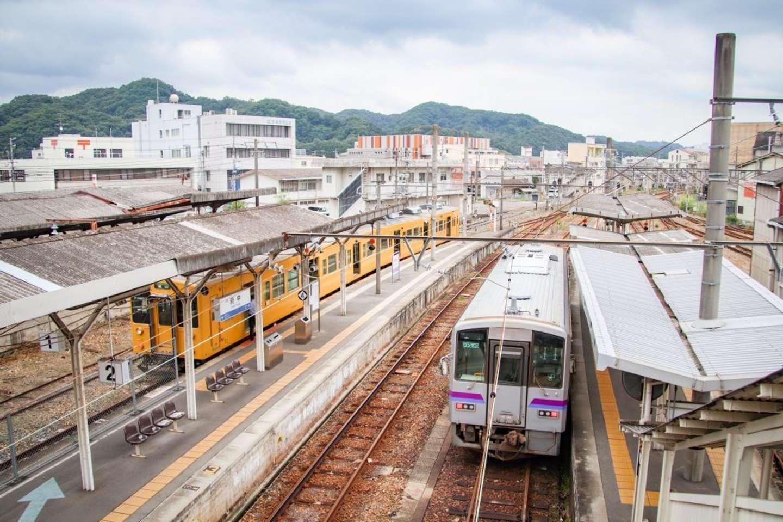福塩線・府中駅の2番のりば(写真は海垣さんが様々な駅の魅力を発信するアカウント(@ride626_st)に投稿したもの)