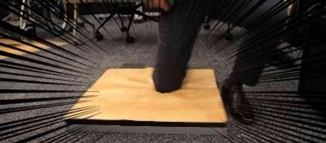 転ぶと柔らかくなる床に、手ぶらで使えるナビシステム... 広島で、新しい時代が始まりつつあった