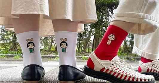 あの「仙台弁こけし」が靴下になった ご当地限定グッズが女性たちに大人気