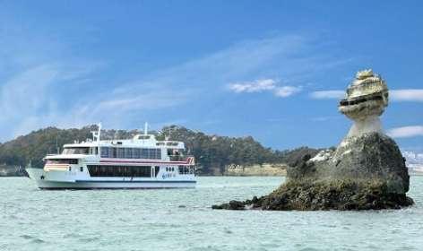 「無事再開できて、よかった」 松島の遊覧船が50日ぶりに島巡り